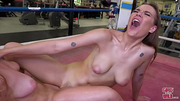 GIRLS GONE WILD - Macy Scissors Sailor In The Boxing Ring 5分钟