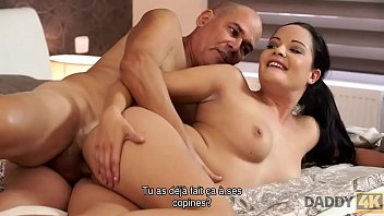 DADDY4K. Dad and young girl sex culminates with nice facial cumshot