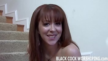 You can watch while he fills my ass with black cock