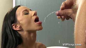 Eveline Neill Filled Up With Her Man's Piss