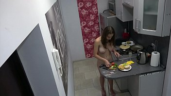 Boneless chicken breast cooking times Czech cute teen - naked cooking, voyeur spy cam at home