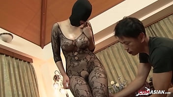 Masked Japanese Milf Fucked Hard [Uncensored]