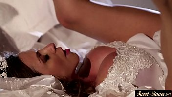 bff parties.com - Creamed MILF bride spreads her legs for cock thumbnail