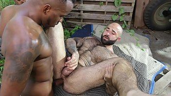 Big hairy bear gay - Gaywire - atlas grant gets his hairy, muscular ass stuffed by phoenix fellington