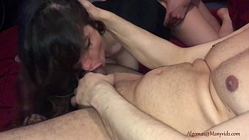 We will fuck your ass for a better tomorrow! Real Homemade Threesome!