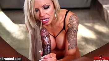 Throated Nina Elle Attempts The BBC