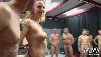 Gangbang vaginal cumshot Mmv films crazy german gangbang