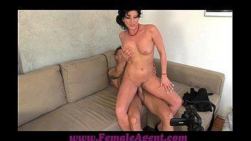 FemaleAgent Nymph stripper delights MILF thumbnail