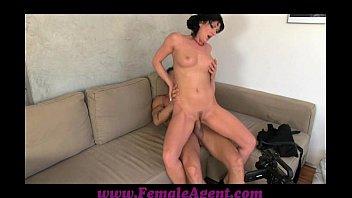 FemaleAgent Nymph stripper delights MILF