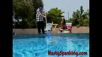 Amazing hot spanking babes
