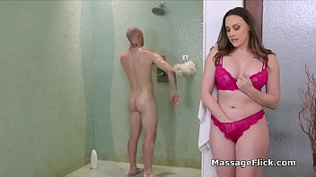 Big Tit Masseuse Is Horny For Clients Oily Cock