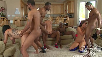 My wife got gangbang - Bbc gangbang for three horny whores