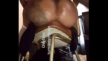 Bbw Black Milf Enjoying Son Hard Dick