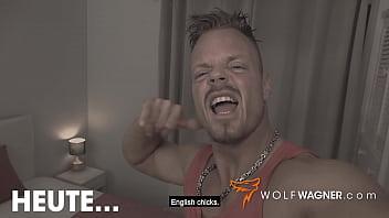 British Pornstar TINA KAY real FUCK date with German Douchebag in London! WolfWagner.com