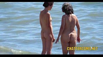 Nudist Beach MILF Spycam Hidden Cam Compilation