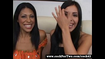 Latina Cassandra Cruz vs Mexican Lorena Sanchez - Cock For Two