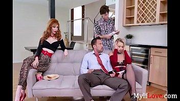 Shocking News Makes This Family HORNY- Lauren Phillips, Zoey Monroe 8 min