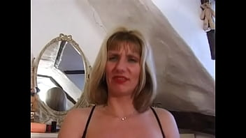 Big titted English Milf Josephine James with big dildo and gets one up the arse thumbnail