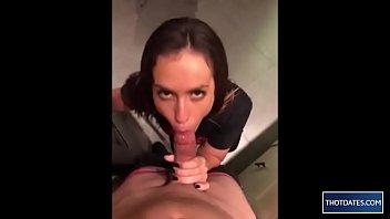 Horniest girl ever sucks dick in the kitchen - SC: bella.beccy