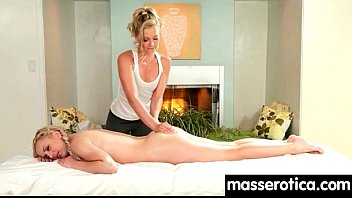 Sensual Oil Massage Turns To Hot Lesbian Action 25