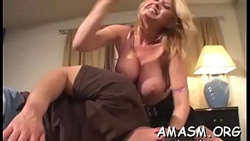 Female domination girls spanking man Busty female smothering man with amazing titjob on web camera