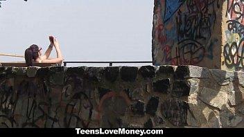 TeensLoveMoney - Hot Latina (Julia de Lucia) Gets Fucked Outdoors