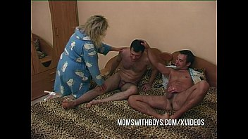 Stepmom Fucking Two Young Cocks pornhub video
