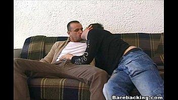 Intense Gay Hunk on Hardcore Barebacking