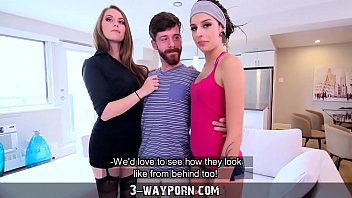 NEUTRE- 3-Way Porn - Threesome for Newbie Actor with Hot Blonde & Petite Brunette