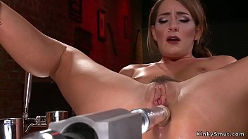 Facial muscle toning machines Toned solo babe anal fucking machine