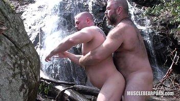 Bear gay porn Slippery when wet
