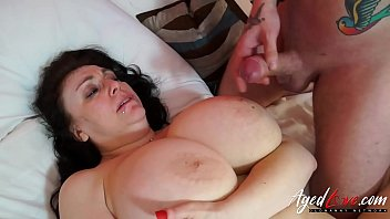 Lusty busty mature Agedlove extremely busty mature fucked hardcore