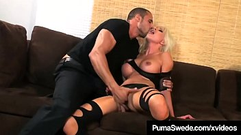 Amazon girls sex video Blonde amazon puma swede pussy pounded in high heeled boots