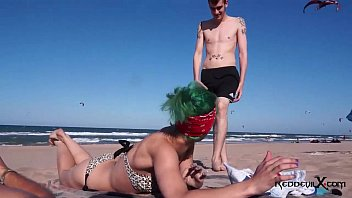 Small boobs fuck - Punk slut fucked on the beach - brandy moloka