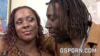 creampie for a hot black couple with sexy milf and bbc
