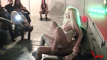 Suck and fucking in public - Blondie Fesser & Emilio Ardana preview image