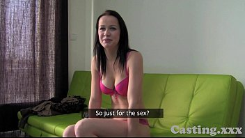 Casting HD Brunette amateur loves anal