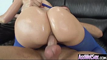 Famos porn stars Anal sex tape with curvy big ass oiled girl anikka albrite vid-23