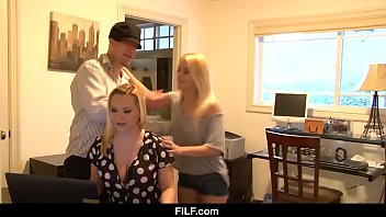 FILF - StepMom is A Slut and fucks Son In Law thumbnail