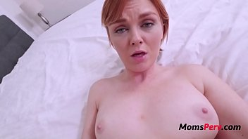 Busty MILF Mom Fucks Son While She Feels Guilty About Cheating- Marie Mccray
