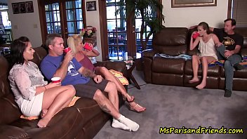 Quarantined Family Reunion Turns Into a TABOO Orgy 11 min