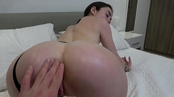 Sexy slut sucks big dick and then rides reverse cowgirl and fucks missionary getting cum 4K 60FPS
