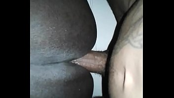 22 centimeters in the ass of the girl and she loves it