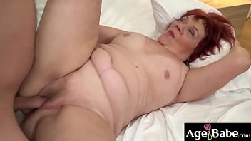 Rob Will Make Granny Marsha Wet And Horny For His Massive Cock