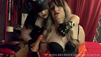 Vends-ta-culotte - French Domina Obliges Sissy Slave Blowjob