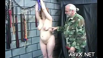 Seductive sweetie who is eagerly masturbating
