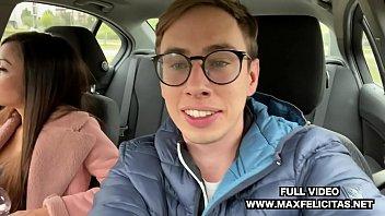 OUTDOOR SEX IN THE CAR FOR ITALIAN MARTINA SMERALDI WITH MAX FELICITAS COCK OPENAIR 10 min