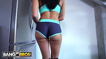 BANGBROS - MILF Victoria June Fucks Her Big Dick Step Son Jmac After Catching Him Jerking Off