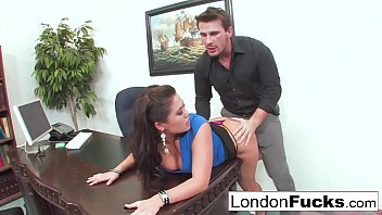Nude cyclists london London keyes gets bent over and office fucked