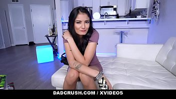 Dad Makes Stepdaughter Viva Athena to Suck His Cock for Money